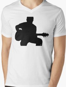 Rock_Licks Guitar   Mens V-Neck T-Shirt