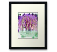 Many Coloured Reeds-Available As Art Prints-Mugs,Cases,Duvets,T Shirts,Stickers,etc Framed Print