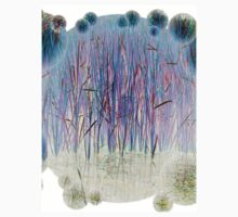 Light Blue Reeds-Available As Art Prints-Mugs,Cases,Duvets,T Shirts,Stickers,etc Kids Clothes