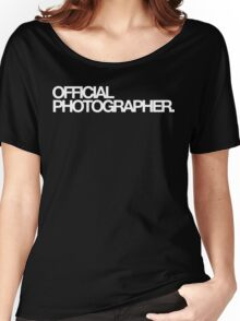 Official Photographer Women's Relaxed Fit T-Shirt