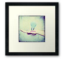 Imagine Creativity Framed Print