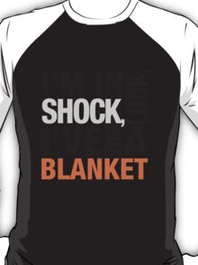 Sherlock blanket quote typography T-Shirt