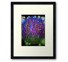 Many Coloured Reeds 2-Available As Art Prints-Mugs,Cases,Duvets,T Shirts,Stickers,etc Framed Print