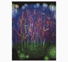 Many Coloured Reeds 2-Available As Art Prints-Mugs,Cases,Duvets,T Shirts,Stickers,etc Kids Tee