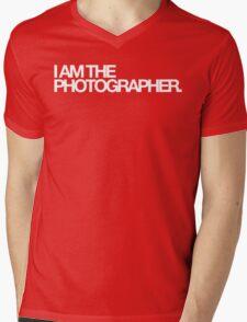 I am the photographer. Mens V-Neck T-Shirt