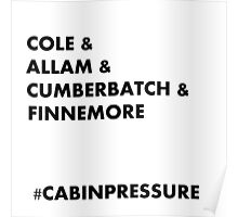 Cole & Allam & Cumberbatch & Finnemore Poster
