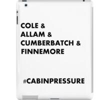 Cole & Allam & Cumberbatch & Finnemore iPad Case/Skin