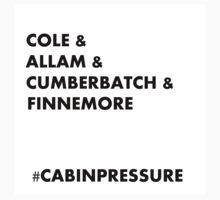 Cole & Allam & Cumberbatch & Finnemore Kids Tee