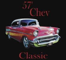 57 Chev Belair Classic Kids Clothes