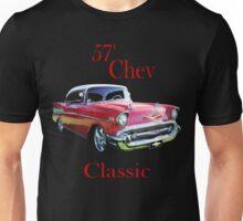 57 Chev Belair Classic Unisex T-Shirt
