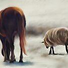 Friendsheep by Sandra Guzman