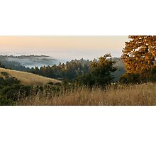 Dawn over Sonoma County Photographic Print