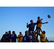 RAMSEY RUGBY 1 Photographic Print