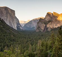Tunnel View at Dusk by TomGreenPhotos