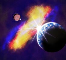 Sittin' Pretty in the Cosmos by Davcam