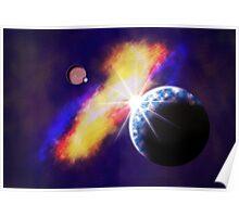 Sittin' Pretty in the Cosmos Poster