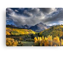 Mt Sneffels in Fall Color Metal Print