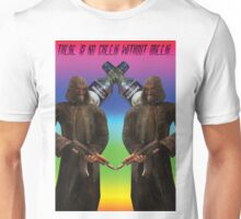 There is no cheeki without breeki... Unisex T-Shirt