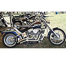 Magnificent Bikes Photographic Print