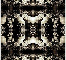 Skull Leggings Photographic Print