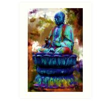 Buddha Revisited  Art Print