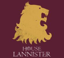 House Lannister - Game of Thrones T-shirt / Phone case / More 4 by zehel
