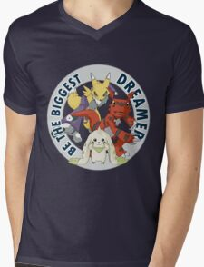 Be The Biggest Dreamer Mens V-Neck T-Shirt