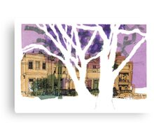 Drawing : Rathdowne Street, Melbourne Canvas Print
