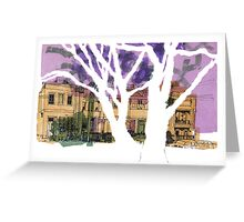Drawing : Rathdowne Street, Melbourne Greeting Card