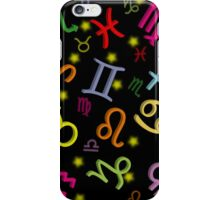 Floating Zodiac Signs iPhone Case/Skin