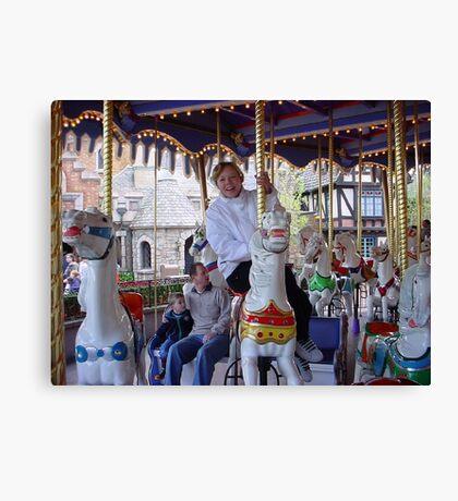Merry-go Round Canvas Print