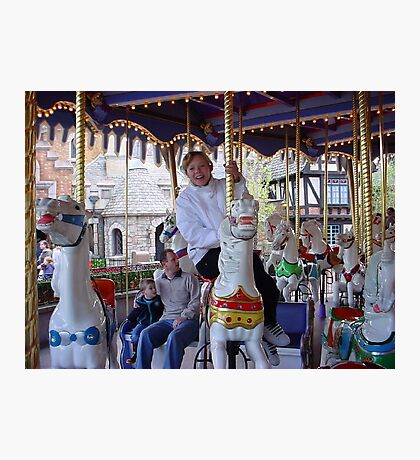 Merry-go Round Photographic Print