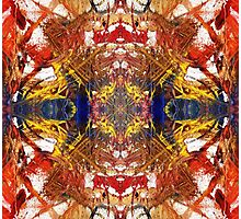 Leggings Abstract 2 Photographic Print