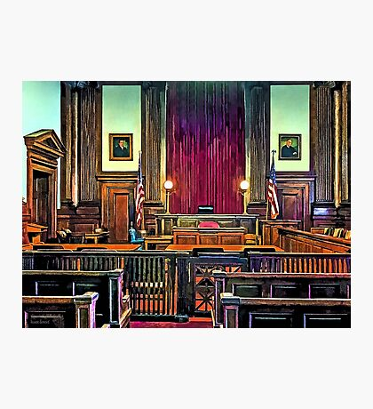 Courtroom Photographic Print
