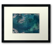 Phytoplankton Bloom in the Barents Sea Framed Print