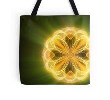 Smoke art - Lemon lime Tote Bag