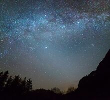 The Milky Way from Scotland by CrimsonSkyPhoto