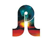 Pretty lights logo 1 Photographic Print
