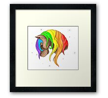 Fairy Tail Filly Framed Print