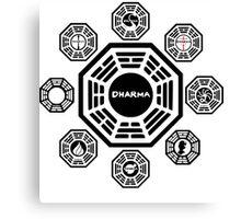 Lost Dharma Station Canvas Print