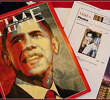 TIME Magazine; Person of the Year, Greg's Art and My Photo Online by lm31
