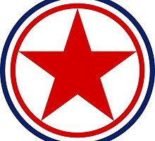 Roundel of the North Korean Air Force by abbeyz71