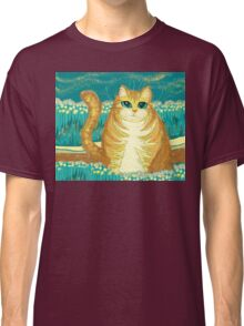 Cat And Pollen Classic T-Shirt