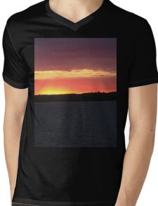 Sunset Over  Lake Catchacoma 2-Available As Art Prints-Mugs,Cases,Duvets,T Shirts,Stickers,etc T-Shirt