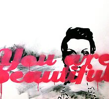You are beautiful by Sarah Sculley