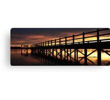 Sunset glory Canvas Print