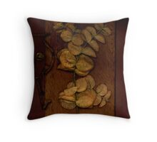 Book Leaves Throw Pillow