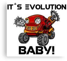 Evolution of Robots Canvas Print