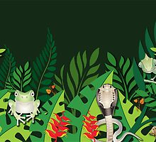 Rainforest Creatures by Lesley Smitheringale