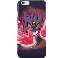Female Mega Gengar iPhone Case/Skin